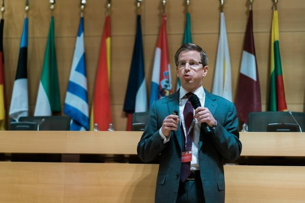 Comment positionner le pays pour attirer des talents? François Mousel revient sur les idées échangées sur le sujet lors de la Journée de l'économie. (Photo: Marion Dessard)
