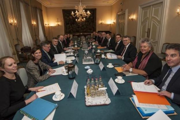 Le conseil de gouvernement s'est penché sur la surveillance macro-prudentielle. (Photo: SIP)