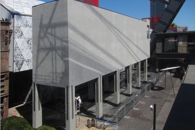 Les œuvres réalisées dans le cadre de la résidence Public Art Experience sont présentées ce week-end. (Photo: Jan Kopp)