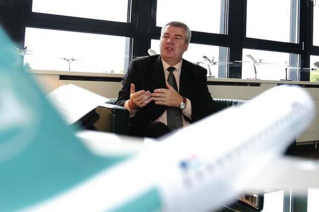 Christian Heinzmann est le seul non-Luxembourgeois à avoir dirigé Luxair.  (Photo: Frédéric Di Girolamo / archives)
