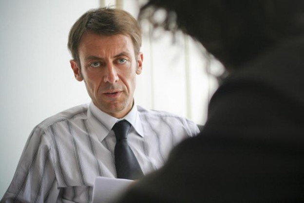 Bertrand Mertz évoque un climat politique agressif et haineux à Thionville depuis l'élection – désormais invalidée – d'Anne Gromerch en 2014. (Photo: Étienne Delorme / archives)