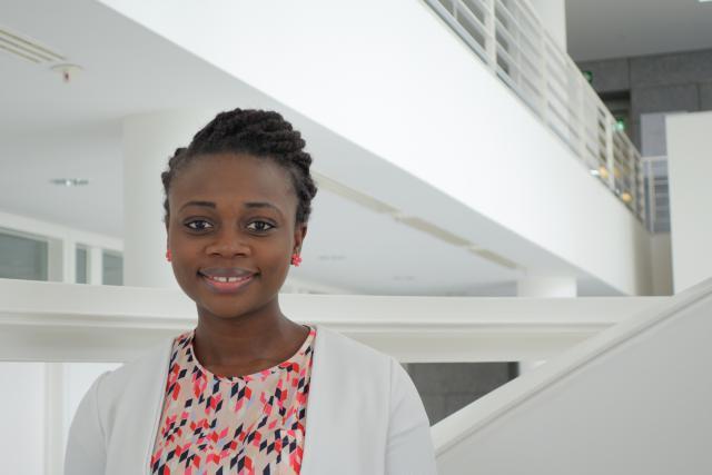 Oladjo Rachelle Aloko: «Si c'était à refaire, je choisirais encore le Luxembourg.» (Photo: Université du Luxembourg)