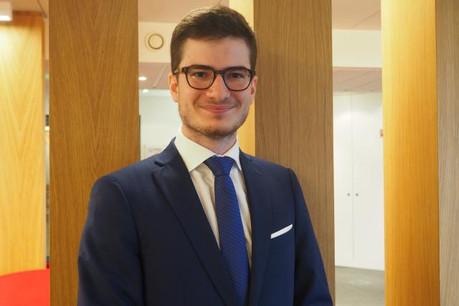 Gilles Kerschenmeyer voudrait un emploi d'analyste financier/économique, gestionnaire de portefeuilles ou consultant. (Photo: Adem)