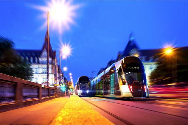 D'ici à 2020-2021, le Findel sera directement relié à la Cloche d'Or par le tram. (Photo: Luxtram)