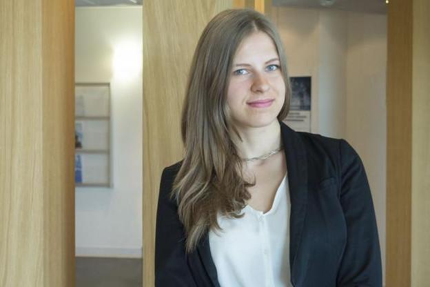 Pour Dziyana Nestsiarovich, une entreprise doit être «démocratique, dynamique, donnant la possibilité de développer des capacités professionnelles». (Photo: Adem)