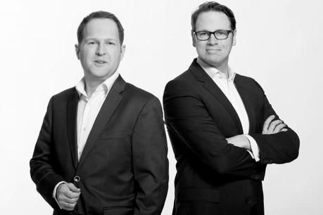 Les deux fondateurs de PayCash, Jürgen Wolff and Marcus Becker. (Photo: PayCash)