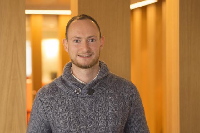 Thomas Davies: «J'ai de bonnes connaissances en Suite Adobe, Autocad et Sketchup.» (Photo: Adem)