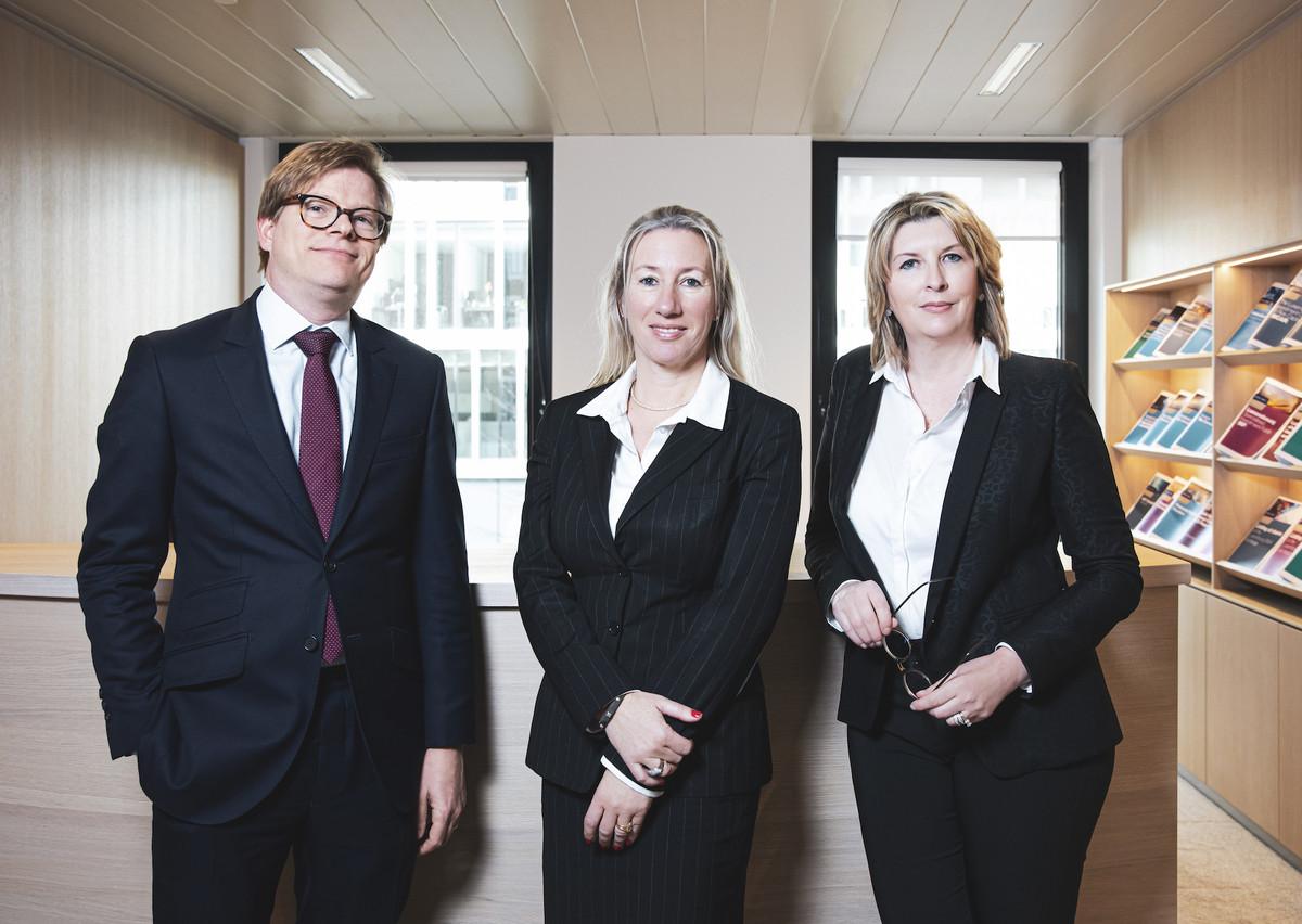 Henri Dupong, Véronique Hoffeld et Sabrina Martin de Loyens & Loeff Patricia Pitsch - Maison Moderne Publishing SA