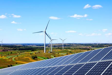 La production d'électricité par l'éolien et le solaire a respectivement augmenté de 9% et de 15% en 2020 dans l'UE. (Photo: Shutterstock)