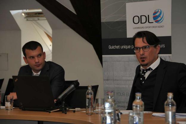 André Hansen (à gauche) etArsène Jacoby sont reconduits. (Photo: gouvernement.lu)