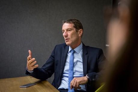 Le président du groupe parlementaire DP, Eugène Berger, a assuré que la coalition restait unie, malgré une rentrée «mouvementée». (Photo: Maison Moderne)