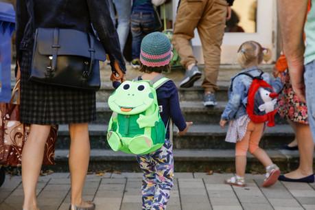 Si certains élèves ont retrouvé leur école voici quelques semaines, la grande majorité le fera au cours des prochains jours. (Photo: Romain Gamba/Maison Moderne/Archives)