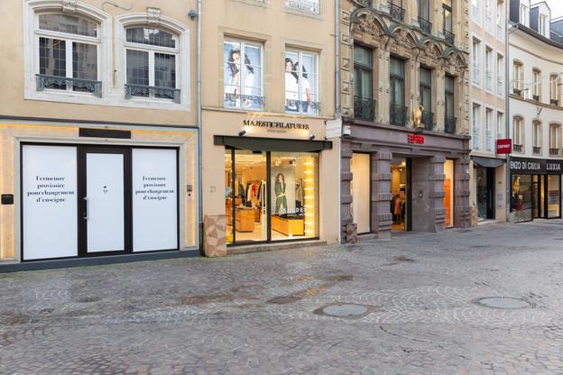 Les commerces non essentiels sont tenus de rester fermés du 26 décembre au 10 janvier au moins. (Photo: Romain Gamba / Maison Moderne)