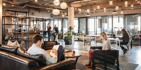 Aujourd'hui, le monde du travail et du résidentiel aspire à plus de collaboration et à créer des liens sociaux.  (Crédit: Dave Burk © Hedrich Blessing 2013)