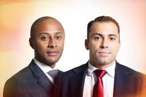 Stéphane Tavares,Senior Cross Asset Sales, &Jonathan McKenzie, Cross Asset SalesSociété Générale. (Photo: Maison Moderne)