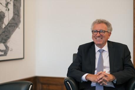 Pour PierreGramegna, le rapport du FMI est «un grand éloge de Washington, dont on peut se réjouir. Ceci confirme le bien-fondé de la politique poursuivie pendant la pandémie.» (Photo: Maison Moderne/archives)