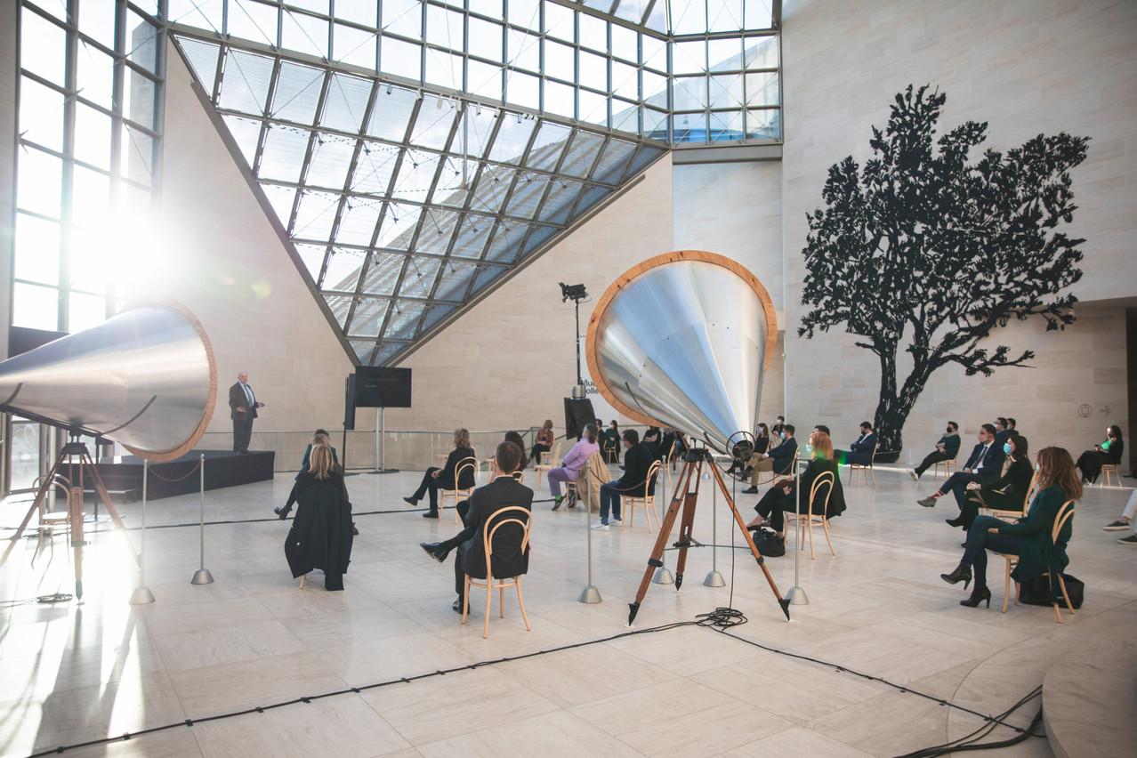 Club Talk : Art & Leadership - 13.04.2021 (Photo: Simon Verjus/Maison Moderne)