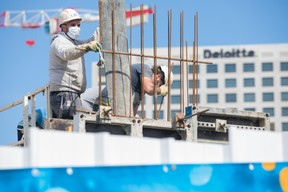 Construction du nouveau siège de la banque Intesa Sanpaolo. ((Photo: Matic Zorman / Maison Moderne))