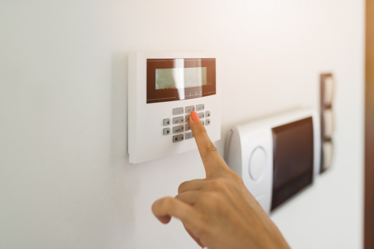 Some people are getting alarm systems installed before going on holiday. Photo: Shutterstock