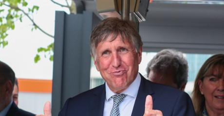 François Bausch voit toujours dans le tram un élément important pour la mobilité du futur. (Photo: Matic Zorman/archives)