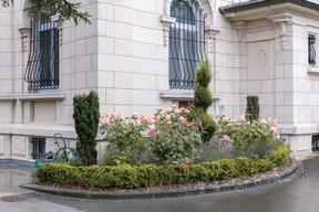 Une roseraie près de l'entrée principale. (Romain Gamba/Maison Moderne)