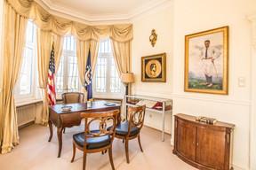 Bureau principal de la résidence. (Ambassade des États-Unis au Luxembourg)
