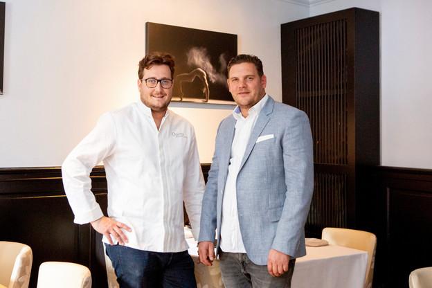 Le chef et restaurateurÉtienne-JeanLabarrère-Claverie (à droite) est l'un des fondateurs du groupe de travail Hôteliers/Restaurateurs Luxembourg. (Photo: Patricia Pitsch/Maison Moderne)