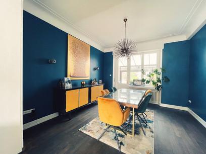 La salle à manger de cette maison à Ettelbruck a été entièrement rénovée. (Photo: Rachel & Michael)
