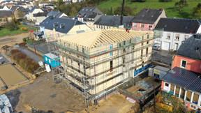 L'entreprise de toiture LucienHeinz réalise notammentdes charpentes. ((Photo: Toiture Heinz))
