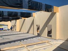 Les constructions en bois figurent aussi dans son catalogue. ((Photo: Toiture Heinz))