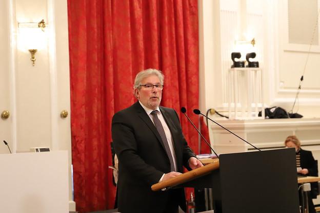Le député LSAP Mars Di Bartolomeo était le rapporteur du projet de loi prolongeant les mesures instaurées en décembre. (Photo: Chambre des députés)