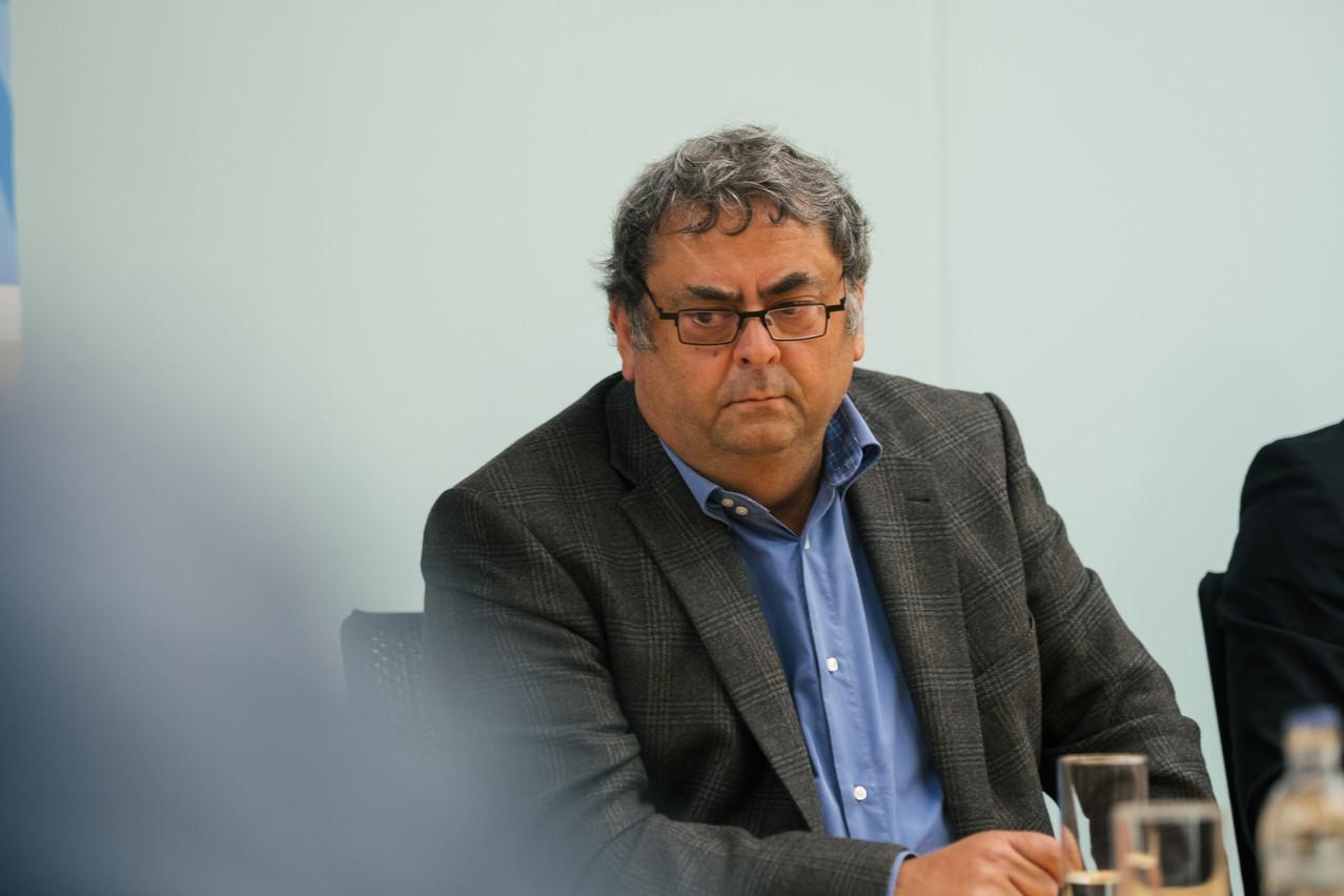 Jean-Claude Bernardini et l'OGBL ont quitté la table des négociations, mais sans doute de façon temporaire. (Photo: Sebastion Goossens / Archives)