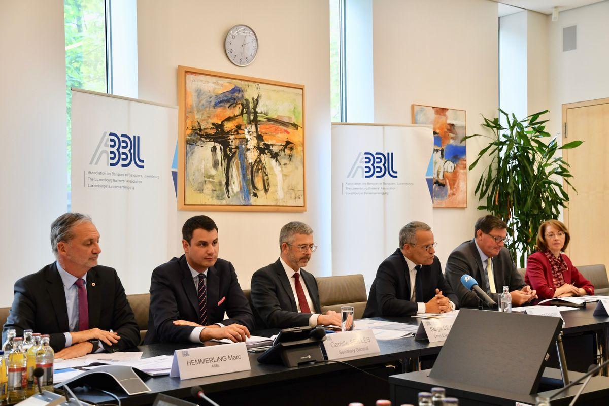 L'Association des banques et banquiers Luxembourg a présenté les résultats annuels de la Place, lundi 29 avril. (Photo: ABBL)