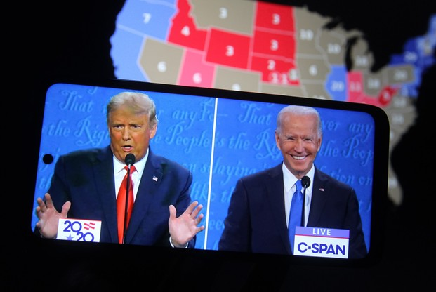 Les candidats sont, au lendemain des élections, encore au coude à coude dans certains États-clefs. (Photo: Shutterstock)