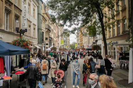 L'UCVL et la Ville de Luxembourg sont heureuses de proposer une«Stater Braderie» proche de celles qui attiraient 200.000 clients. (Photo: Matic Zorman/Maison Moderne/archives)