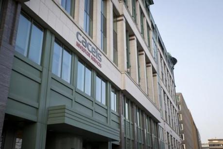 Caceis Luxembourg, située au Glacis, explique les mesures prises pour le retour au bureau de ses quelque 1.052employés. (Photo: Archives Paperjam)