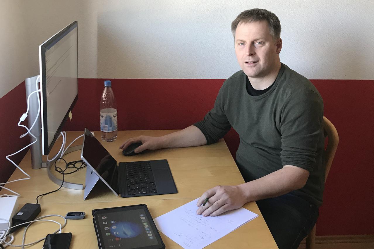 GuyWeymeschkirch souligne l'exploit que l'organisation du télétravail a représenté pour les services IT et les différentes équipes de la Bourse. (Photo: Bourse de Luxembourg)