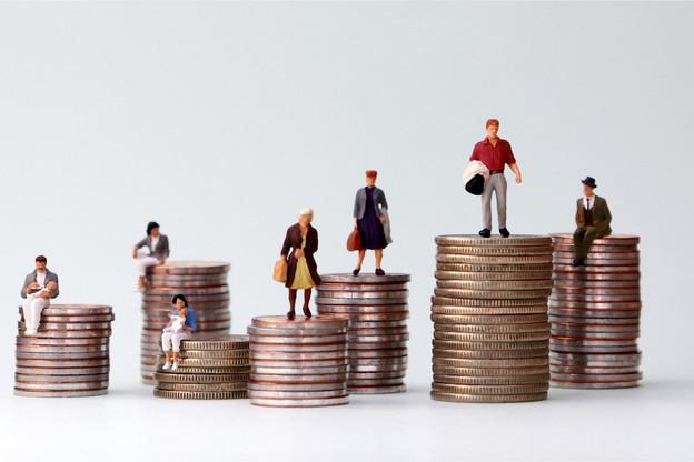 Les inégalités transparaissent également au regard de l'évolution du revenu selon les différentes catégories de ménages. (Photo : Shutterstock)