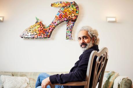 Joël Soheil-Sarmad aimerait accumuler du temps pour assouvir ses envies de création. (Photo: Andrés Lejona/Maison Moderne)