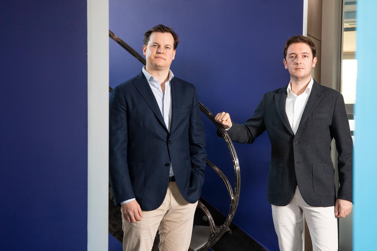 Les deux jeunes entrepreneurs ne voient qu'une seule solution: le recours à des solutions technologiques de pointe. (Photo: Simon Verjus/Maison Moderne Publishing SA)