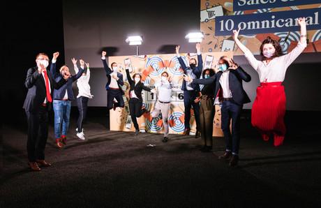 Herwig Temmerman (BearingPoint), Pedro Castilho (Verbalius), Cécile Lorenzini (Vanksen), Adrien Kirschfink (Accenture), Barbara Daroca (ING Luxembourg), Patrick Ittah (Up Consulting), Marc Hoffmann (Cactus), Alicia Brun (Payconiq), François Hannebicque (Lonsdale) et Julie Lhardit (Paperjam Club) (Photo: Julian Pierrot / Maison Moderne)