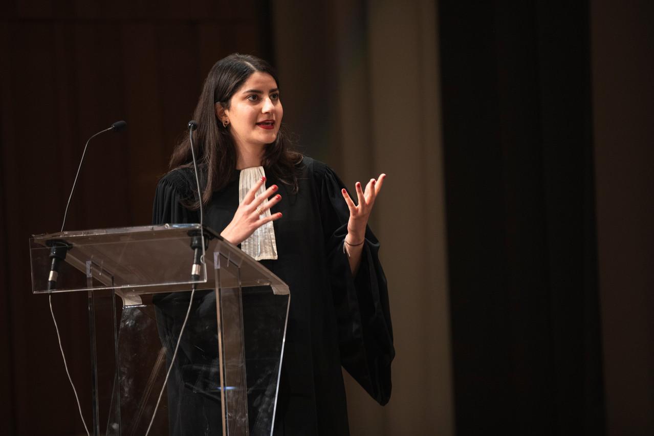 Me ShabnamAhani-Kamangar est avocate au sein du cabinet Brucher Thieltgen & Partners. (Photo: Simon Verjus/Maison Moderne)