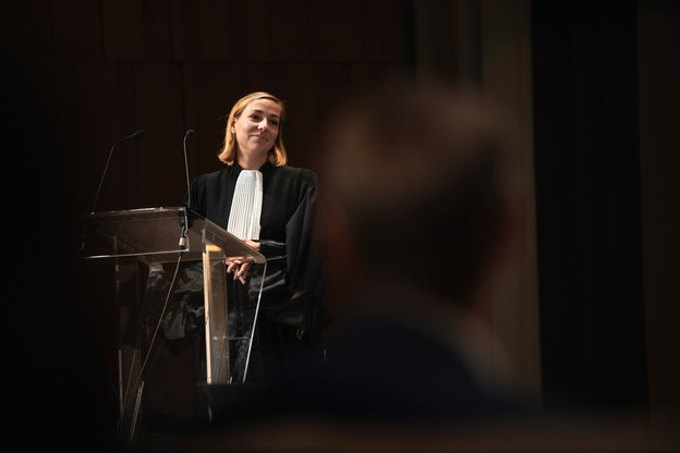 CamilleReckinger est avocate au sein du cabinet Elvinger Hoss Prussen. (Photo: Simon Verjus/Maison Moderne)