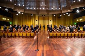 Mme Kovesi et les 22 procureurs européens ont prêté serment le 28 septembre devant la Cour de justice de l'UE. ((Photo: CJUE))