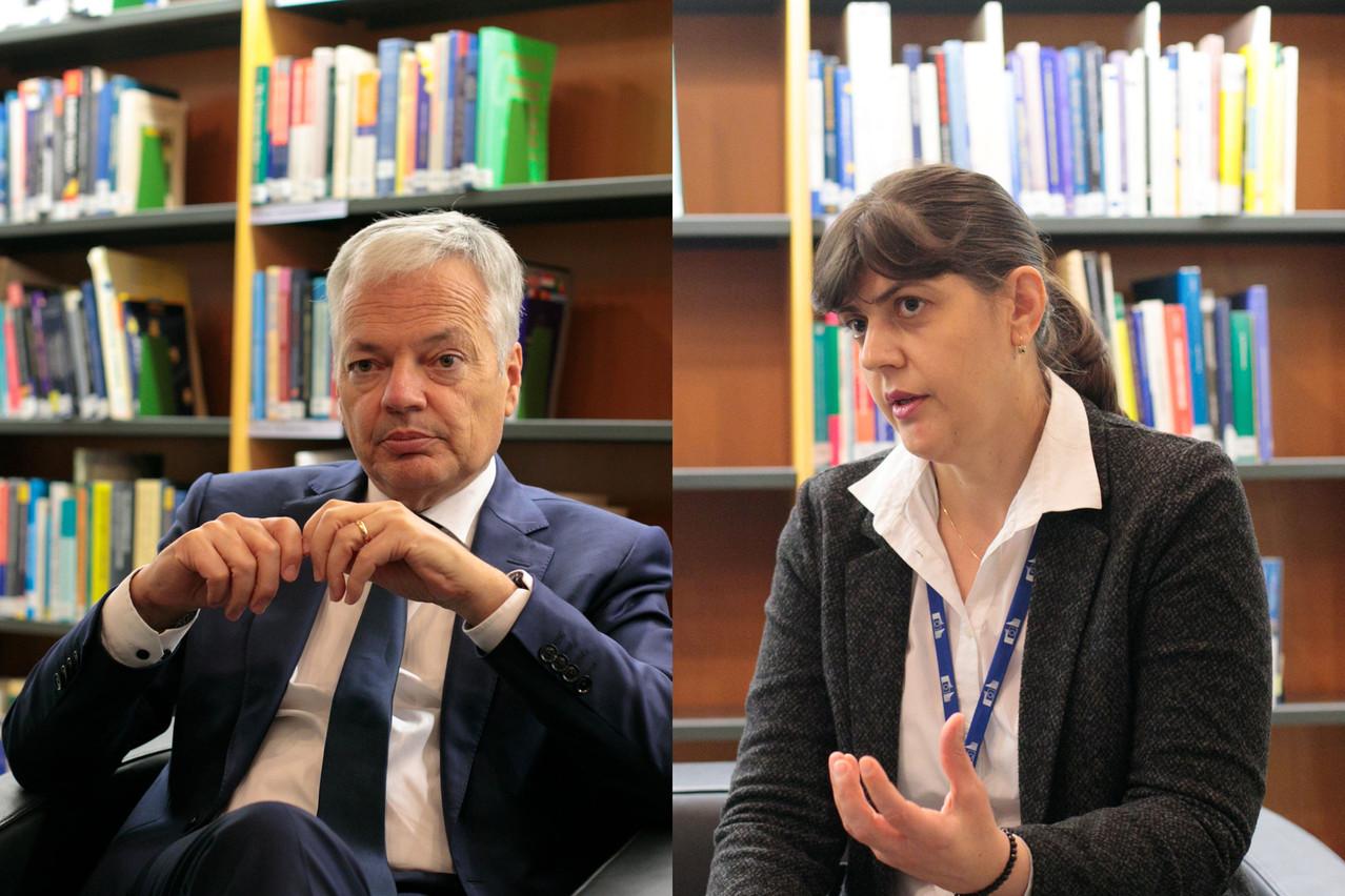 Le commissaire chargé de la justice soutient la demande de 18 millions supplémentaires formulée par Mme Kovesi pour armer le Parquet européen face à la fraude au budget de l'UE. (Photos: Matic Zorman / Maison Moderne)