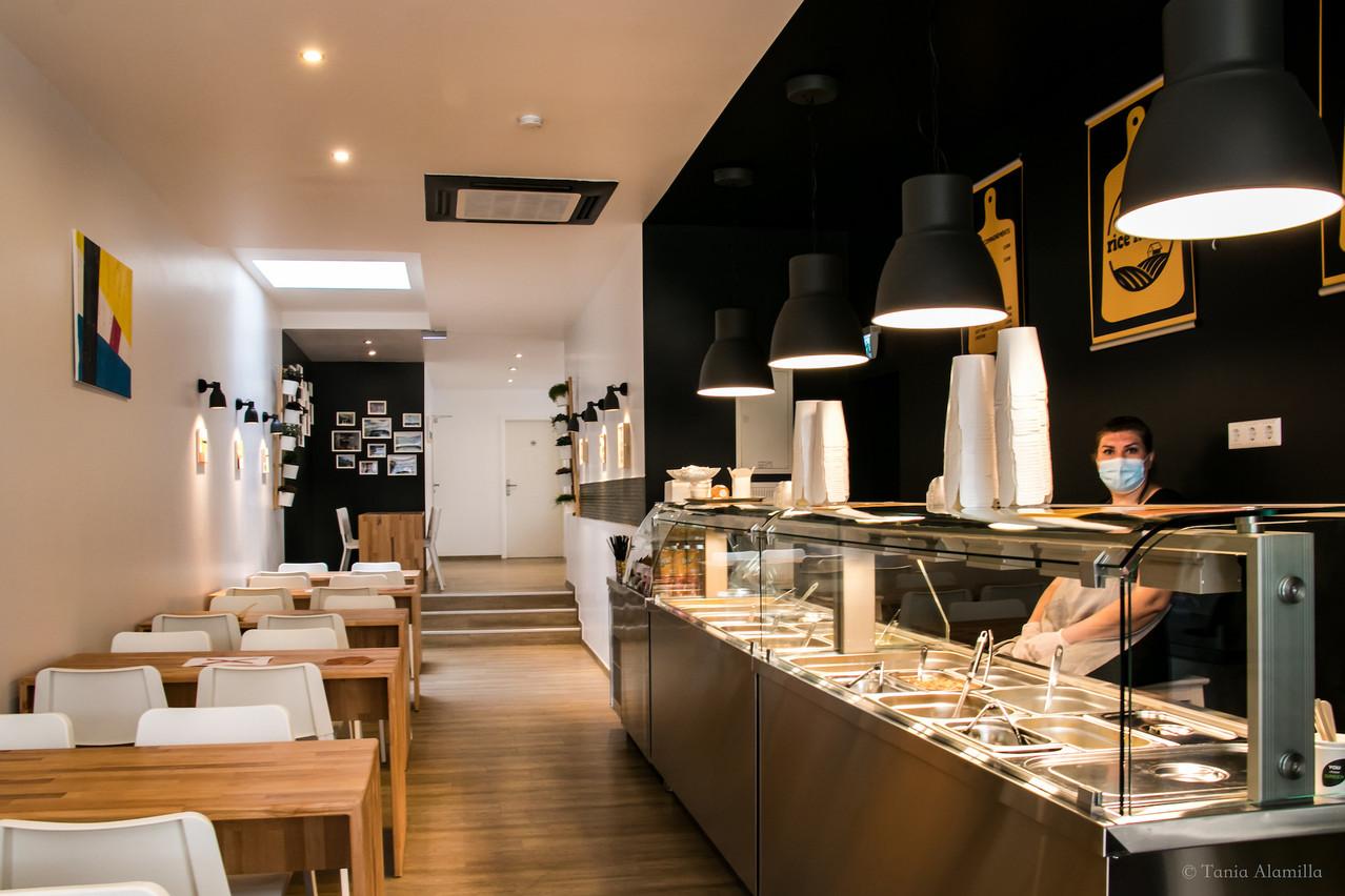 Le nouveau restaurant a pris le temps du confinement pour assurer la décoration. (Photo: Microlux)