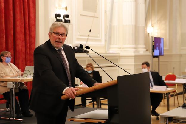 Mars Di Bartolomeo est le rapporteur de la prochaine loi Covid, qui sera débattue et votée jeudi après-midi. (Photo: Chambre des députés / Flickr)