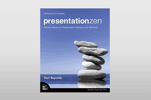 Pour Robert Goeres, «'Presentation Zen' est un livre qui va à l'encontre des méthodes traditionnelles de création d'exposés et incite à penser différemment, avec plus de créativité, pour préparer un discours, une prestation en public et composer des diaporamas». (Photo: New Riders)
