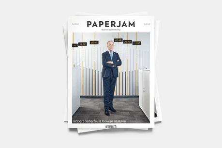 Robert Scharfe, en couverture du numéro d'avril. (Photo: Andrés Lejona / Maison Moderne)