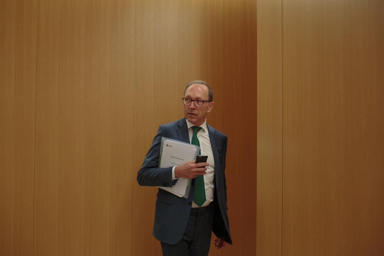 Quelques jours à peine après avoir quitté ses fonctions àla Bourse de Luxembourg,RobertScharfe se lance dans le recrutement de cadres de haut niveau. (Photo: Matic Zorman/archives)
